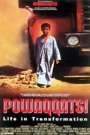 Powaqqatsi - Theatrical release poster