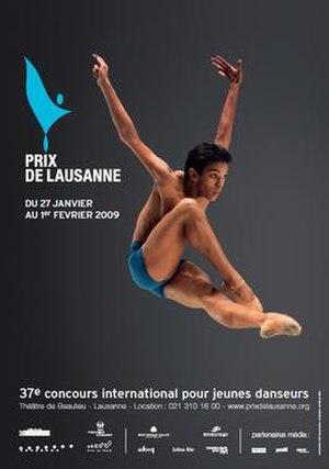Prix de Lausanne - Prix de Lausanne 2009 poster.