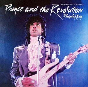 Purple Rain (song) - Image: Purple rain cover