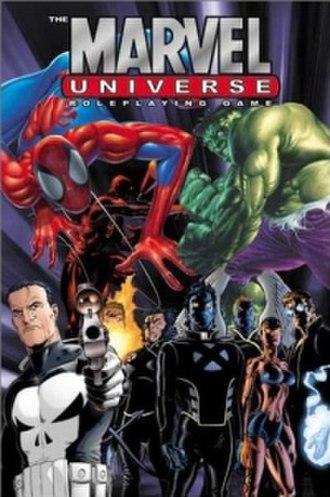 Marvel Universe Roleplaying Game - Image: RPG Marvel Universe RPG cover