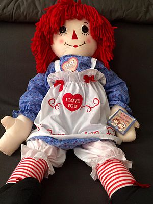 Raggedy Ann - A Raggedy Ann 100 year edition doll