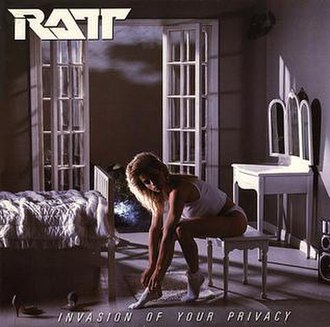 Invasion of Your Privacy - Image: Ratt Invasion