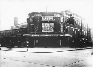 Former cinemas in Harringay - The Ritz soon after opening circa 1935