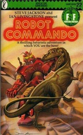 Robot Commando - Cover