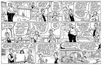 Room and Board (comic strip) - Gene Ahern's Room and Board (June 19, 1938)