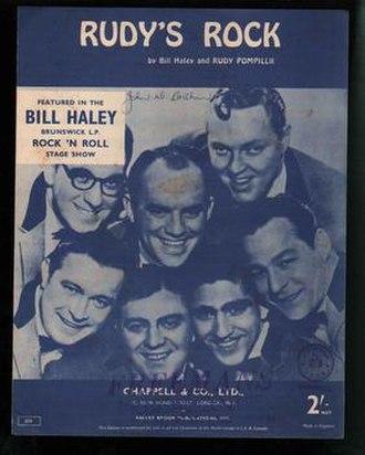 Rudy's Rock - Image: Rudy's Rock Bill Haley Comets 1956