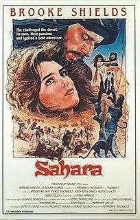 <i>Sahara</i> (1983 film) 1983 British-American adventure drama film by Andrew McLaglen