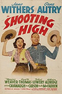 <i>Shooting High</i> 1940 film by Alfred E. Green