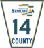 Simcoe Road 14 sign.png