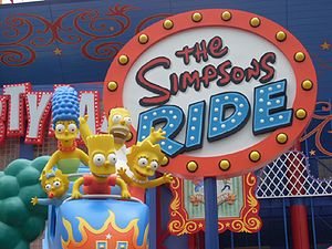 The Simpsons Ride - Image: Simpsonsride 1