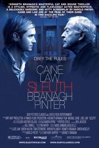 Sleuth (2007 film) - Promotional thriller film poster