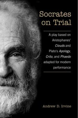 Socrates on Trial - First-edition cover (University of Toronto Press)