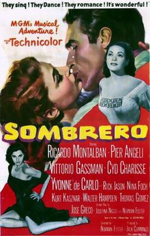 Image result for images from the 1953 film, Sombrero