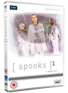 <i>Spooks</i> (series 1) season of television series