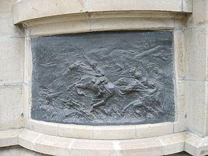 Attacking Cavalryman Statue