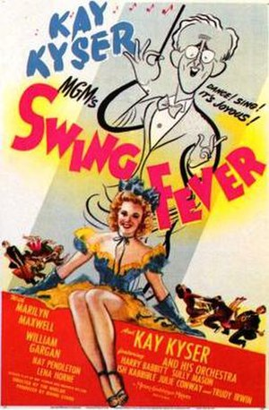 Swing Fever - theatrical poster