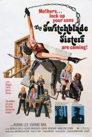Switchblade Sisters - Image: Switchblade Sisters Poster