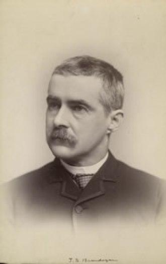 Townshend Stith Brandegee - T.S. Brandegee (Photo credit: University and Jepson Herbaria Archives, U.C. Berkeley)