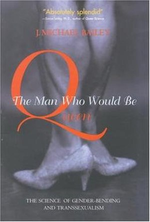 The Man Who Would Be Queen - Cover of the first edition