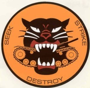 Tank destroyer battalion (United States) - Image: Tank Destroyer Forces (unofficial) logo