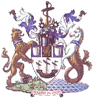 County Borough of Teesside - Coat of arms