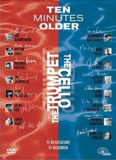 <i>Ten Minutes Older</i> two 2002 anthology films with segments by 15 directors