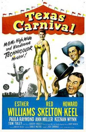 Texas Carnival - Film poster