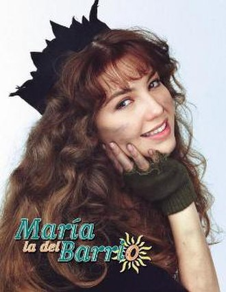 Thalía - María la del barrio, Thalía's 1995 record-setting telenovela that was broadcast in more than 180 countries.
