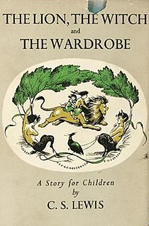 <i>The Lion, the Witch and the Wardrobe</i> childrens fantasy novel by C. S. Lewis, 1950