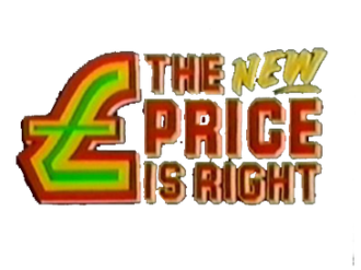 The Price Is Right (UK game show) - Logo from Bob Warman-era.