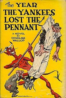 <i>The Year the Yankees Lost the Pennant</i> book by Douglass Wallop