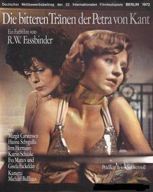The Bitter Tears of Petra von Kant - Theatrical release poster