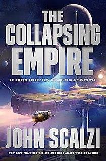 <i>The Collapsing Empire</i> science fiction novel by John Scalzi