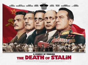 The Death of Stalin - British theatrical release poster