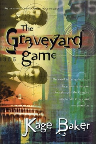 The Graveyard Game - First Edition cover
