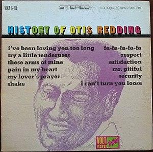 The History of Otis Redding - Image: The History of Otis Redding