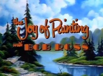 The Joy of Painting - Image: The Joy of Painting title screen