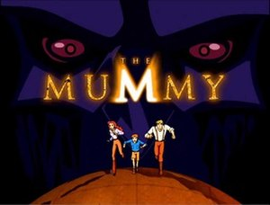 The Mummy: The Animated Series - Image: The Mummy Animated Series Title Card