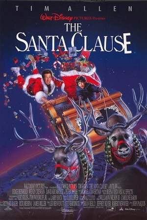 The Santa Clause - Theatrical release poster