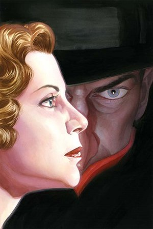 The Shadow - Margo Lane and The Shadow. Art by Alex Ross.