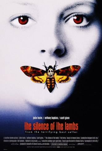 The Silence of the Lambs (film) - Theatrical release poster