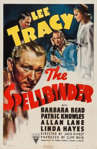 The Spellbinder - Theatrical release poster