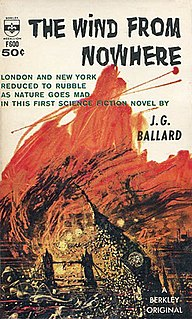 <i>The Wind from Nowhere</i> 1961 novel by J. G. Ballard