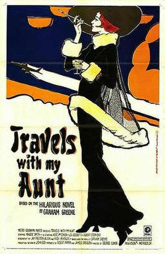 Travels with My Aunt (film) - Theatrical release poster