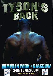 Mike Tyson vs. Lou Savarese Boxing competition