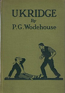<i>Ukridge</i> (short story collection) 1924 short story collection by P.G. Wodehouse
