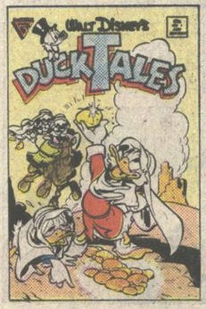 Uncle Scrooge Adventures - Image: Uncle Scrooge Adventures issue 1 (1987) original cover