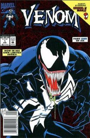 Venom (comic book) - Image: Venom Lethal Protector no 1