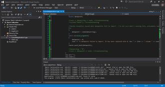 Microsoft Visual Studio - Image: Visual Studio 2013 EN