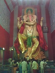 Large statue of Ganesha